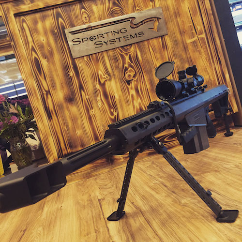 50BMG on Display at Sporting Systems