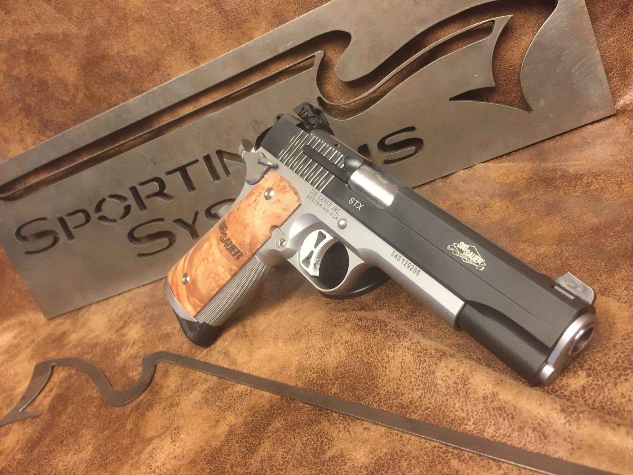 Sig 1911 STX | Sporting Systems