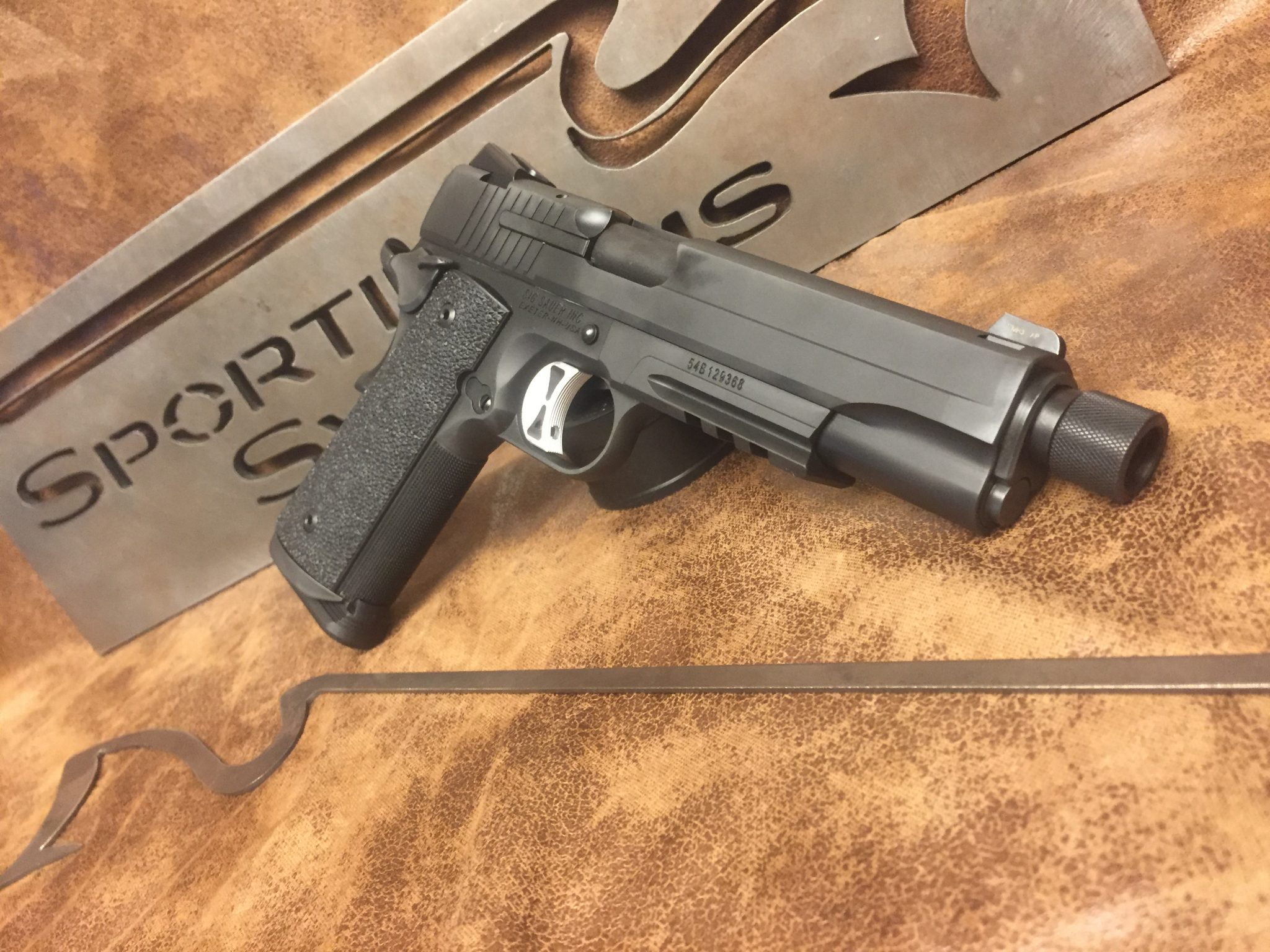 Sig Sauer Tacops 1911 | Sporting Systems