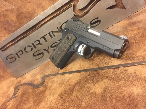 Sig Sauer 1911 ULTRA COMPACT   Sporting Systems