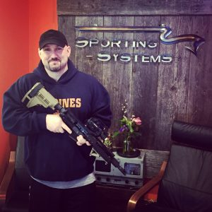 Rifle contest winner at Sporting Systems