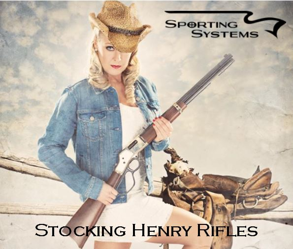 Henry Rifles in stock. Sporting Systems Vancouver, WA.