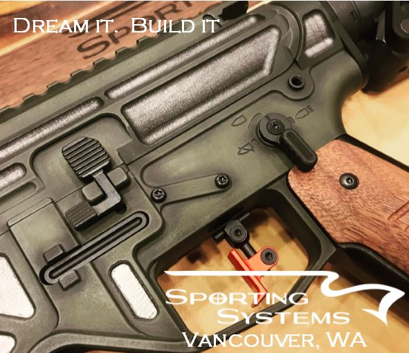 Block AR build. Dream it. Build it. Sporting Systems.