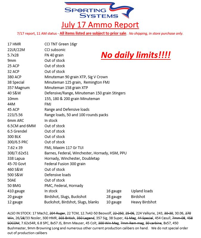 daily-ammo-report